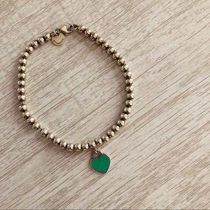Return to Tiffany Beaded Heart Bracelet
